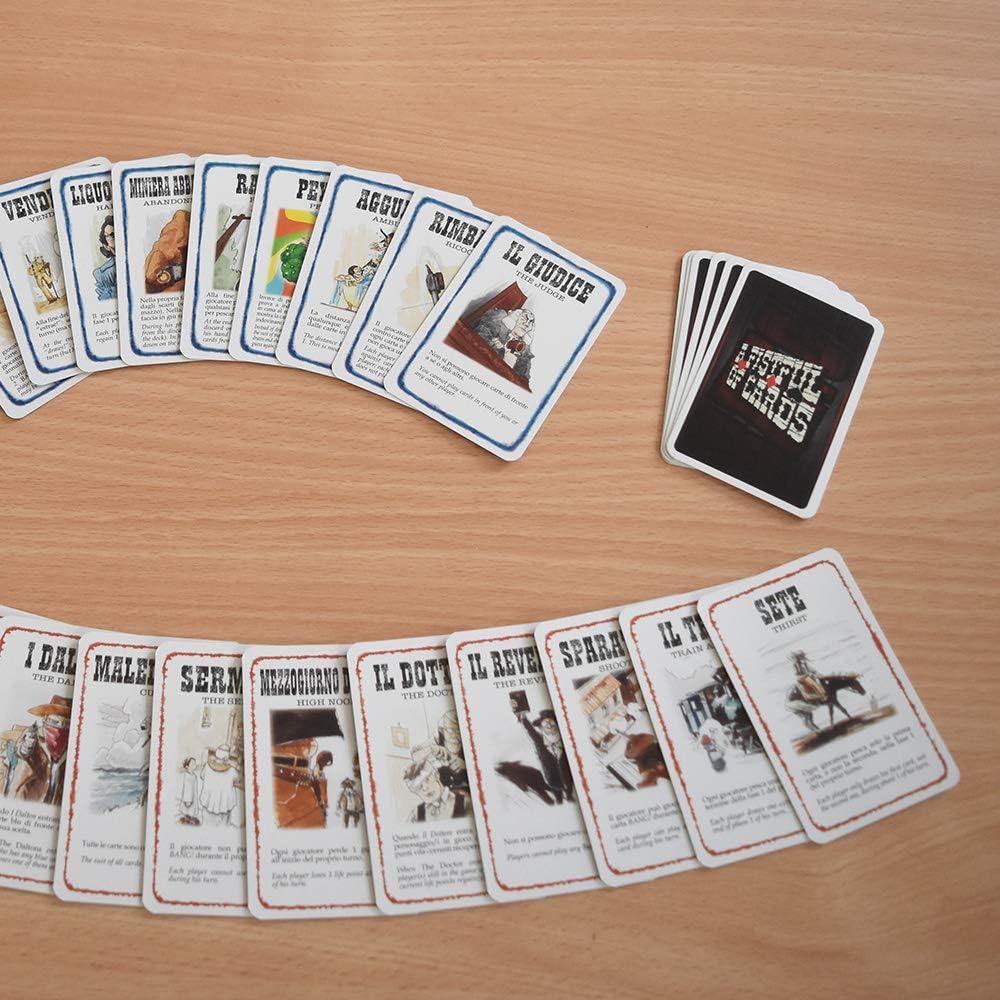 Dv Juegos - ¡Bang! High Noon en Fistful of Tarjetas: Amazon.es: Juguetes y juegos