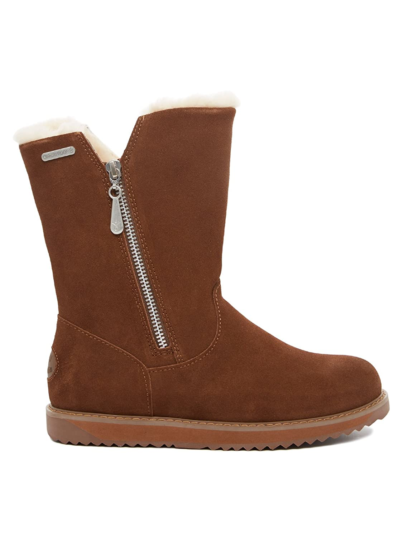 EMU Australia Schuhe Damen Stiefel W11561 Dunkelbraun Dark braun damen