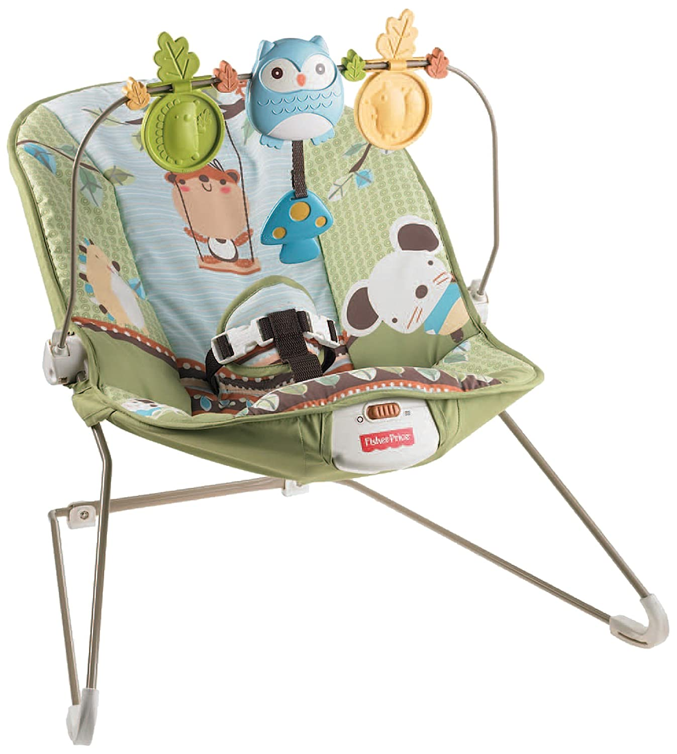Amazon Fisher Price Forest Fun Bouncer Green Grove Airsoft