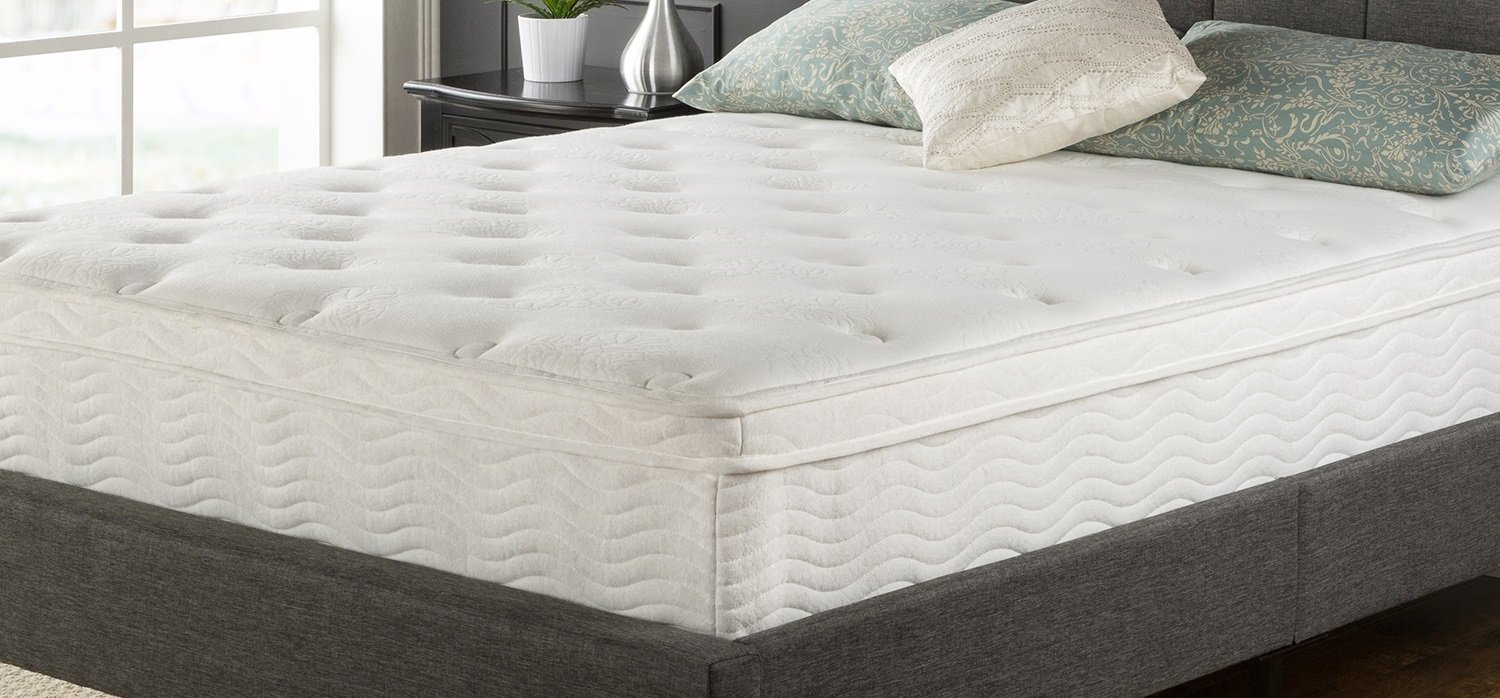 amazoncom night therapy spring 12 inch euro box top spring mattress queen kitchen u0026 dining - Spring Mattress