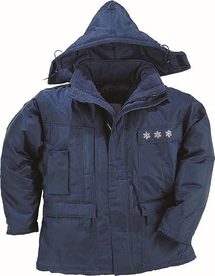 Delta plus indumentaria tecnica - Parka poliamida oxford 3 módulos thinsalate azul marino -l