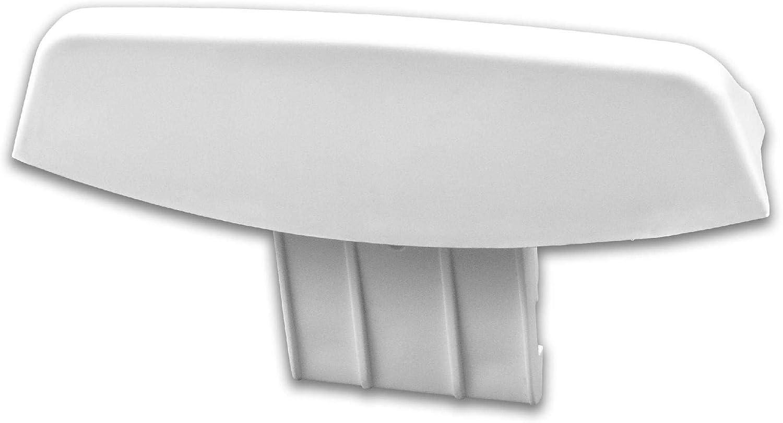 vhbw Tirador de puerta de repuesto compatible con Ariston AMXXF 149 94377280000, AMXXL 120 94377250000, AMXXL 129 94377260000 lavadora secadora