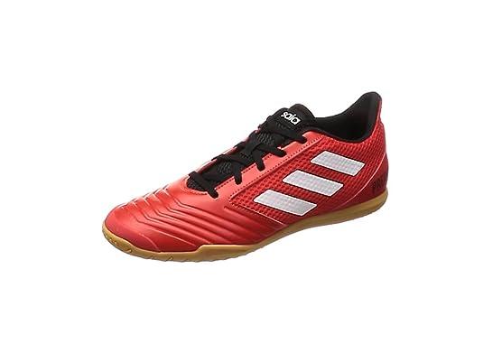 Adidas Predator Tango 18.4, Zapatillas de fútbol Sala para Hombre, (Rojo/Ftwbla