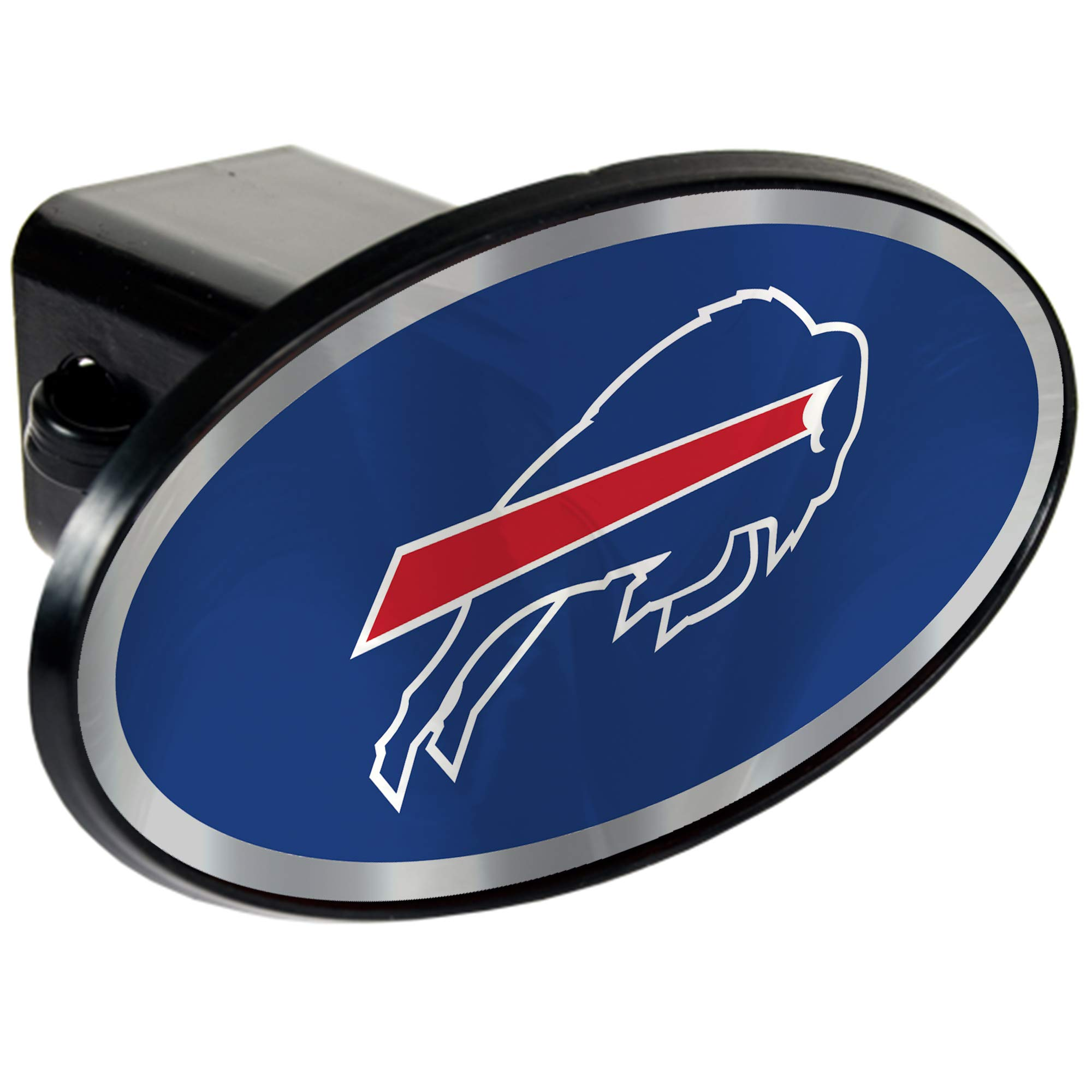 NFL Buffalo Bills Tow Hitch Cover Plug w/pin for Car-Truck-SUV 2'' Receiver by Quality Hitch Covers