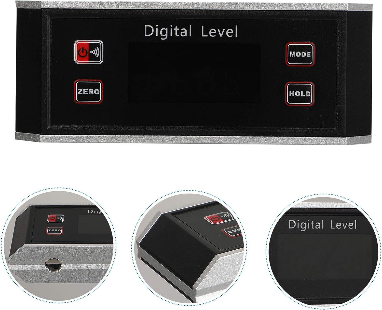 DOITOOL Livello Magnetico Digitale Professionale Livello Elettronico Elettronico e Goniometro Master di Precisione Impermeabile Livello Elettronico Intelligente Livello