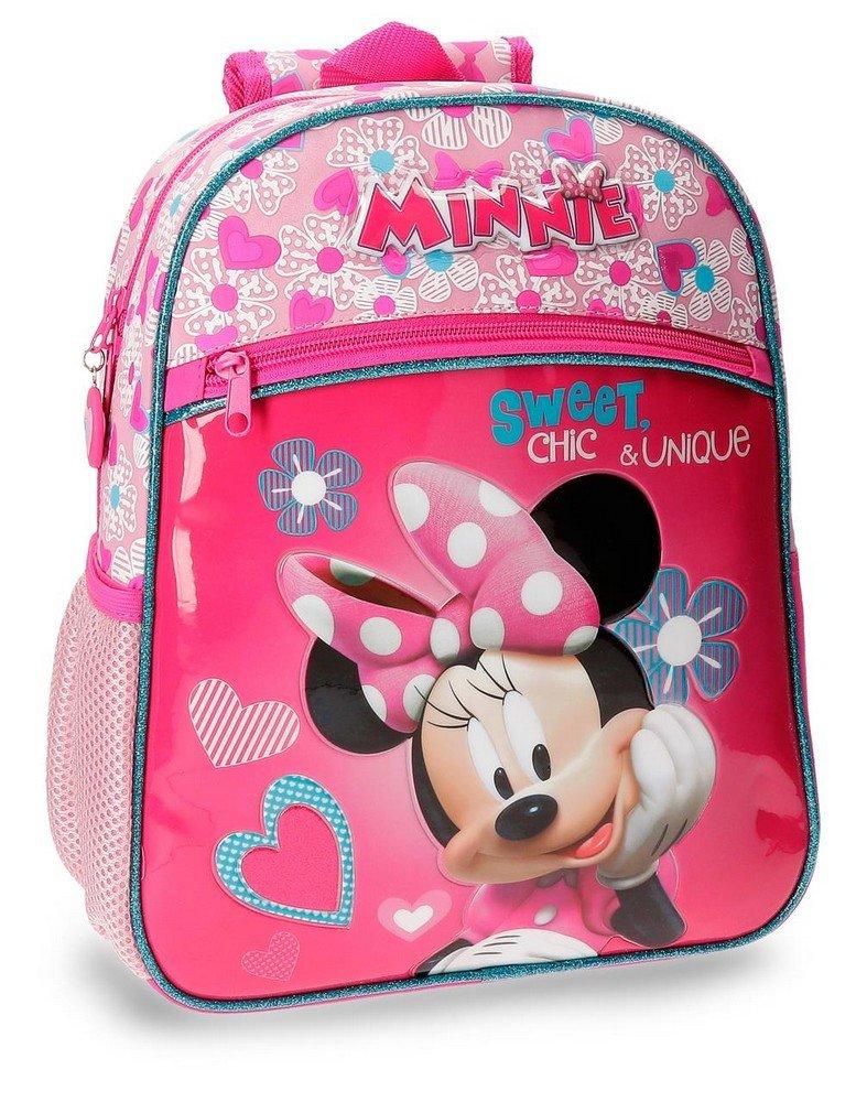 Disney Minnie Fabulous Mochila Infantil, 33 cm, 9.8 Litros, Rosa
