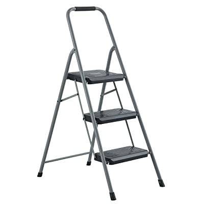 Black & Decker BXL4360-03 Two Step 200 lb Capacity Steel Stool, Gray: Home Improvement