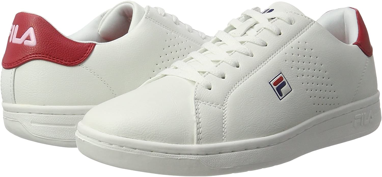 Fila Crosscourt 2 Low, Baskets Homme, Multicolore (White