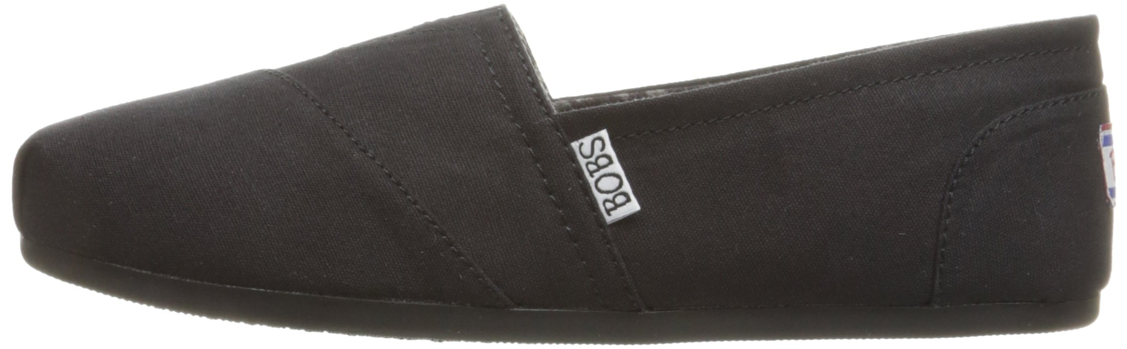 Skechers BOBS from Women's Plush - Peace and Love Flat, Black, 9.5 W US by Skechers (Image #5)