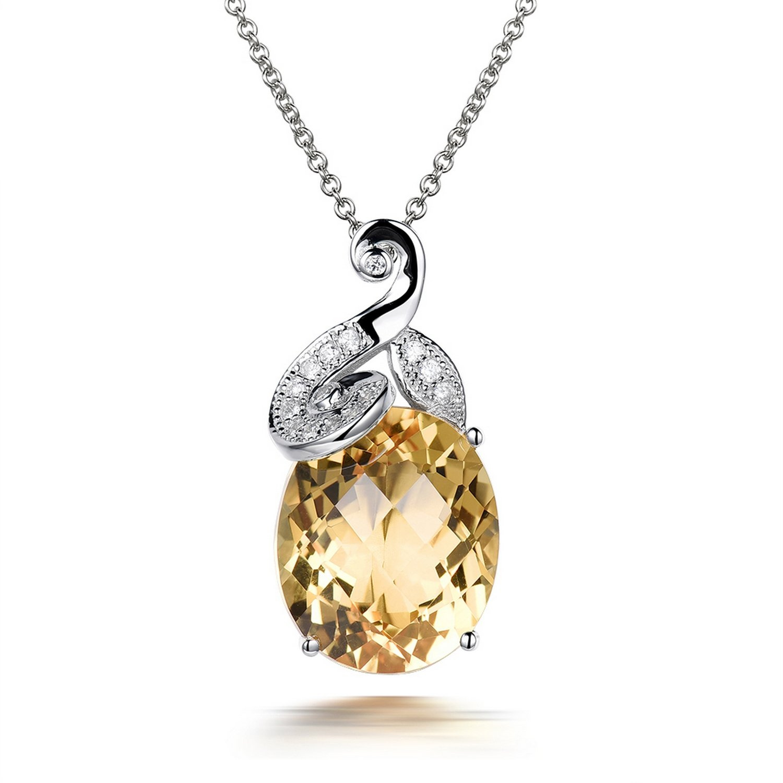 MMC Stone Wedding Jewelry Silver Pendants Necklaces