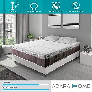 Adara Home Vanity V10 Plus - Colchón Viscoelástico 80x180: Amazon.es: Hogar