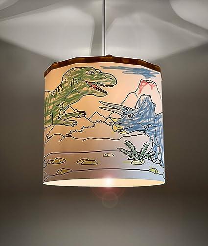 Ereki - Pantalla para lámpara de techo (ABS, resistente al ...