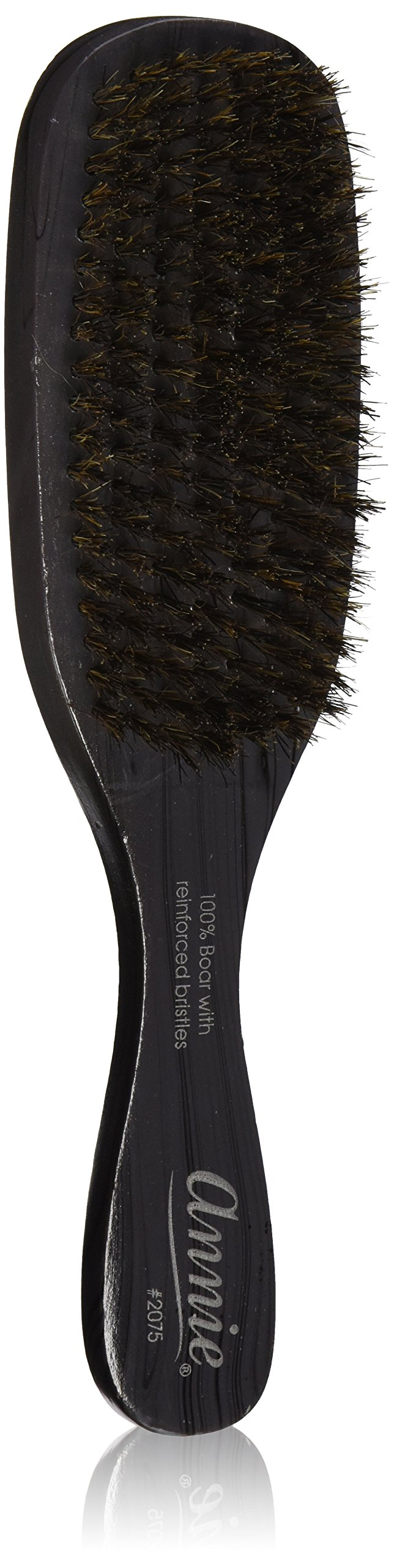 Annie Professional Wave Brush 100% Natural Boar Medium Bristle