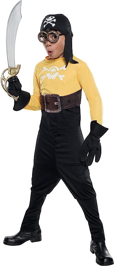 Disfraz de Pirata Minions para niño - M: Amazon.es: Juguetes y juegos