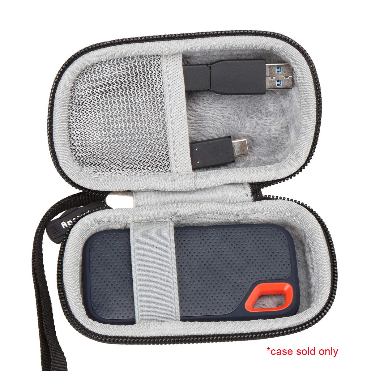 Aproca Duro Viajes Funda Bolso Caso para SanDisk Extreme Portable ...