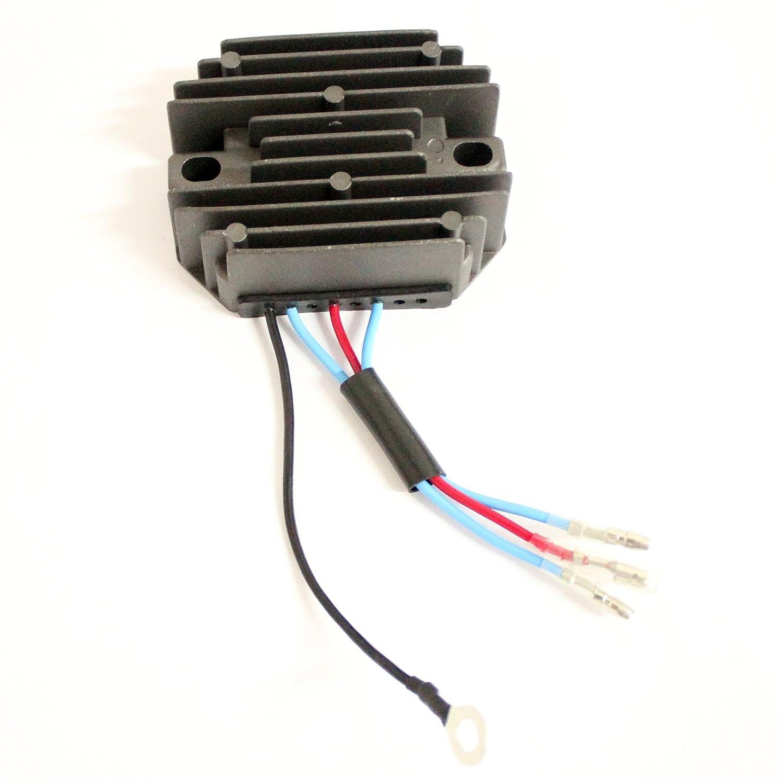 Holdwell Voltage Regulator for Kubota Tractor B6100D B6100E B6100HST-E B6100HST-D 12V