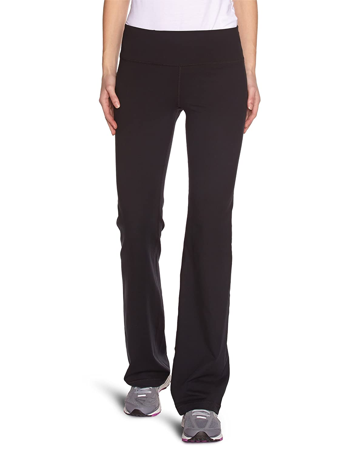 Under Armour Women's Perfect Pant - 33.5', Black (011)/Metallic Pewter, X-Small Under Armour Apparel 1230000 15IM1230000_11-XS