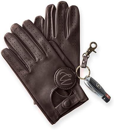 Swift Wears Mens Lambskin Leather Driving Gloves Chauffeur Tan