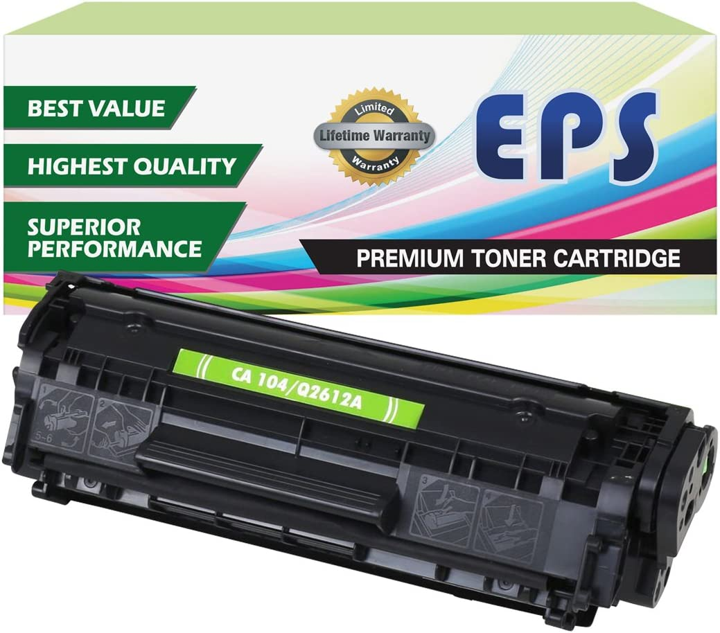 EPS Compatible Replacement Toner Cartridges for Canon 104 Printer ...