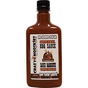 Crazy Mooskies No Added Sugar Original BBQ Sauce
