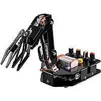 SunFounder Kit de borde de brazo robótico para Arduino R3 - un brazo robot para aprender educación STEM (101 piezas).