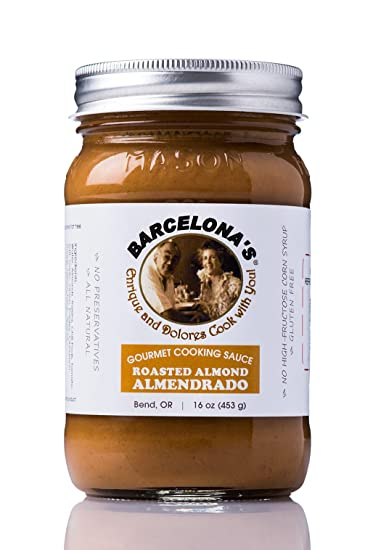 Barcelonas All Natural, Gluten Free, Mole De Almendras (Almendrado) Almond Gourmet Cooking