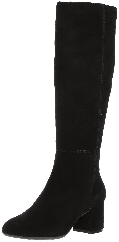Aerosoles Women's Stock Market Knee High Boot B06Y5V6DMN 9.5 B(M) US|Black Suede