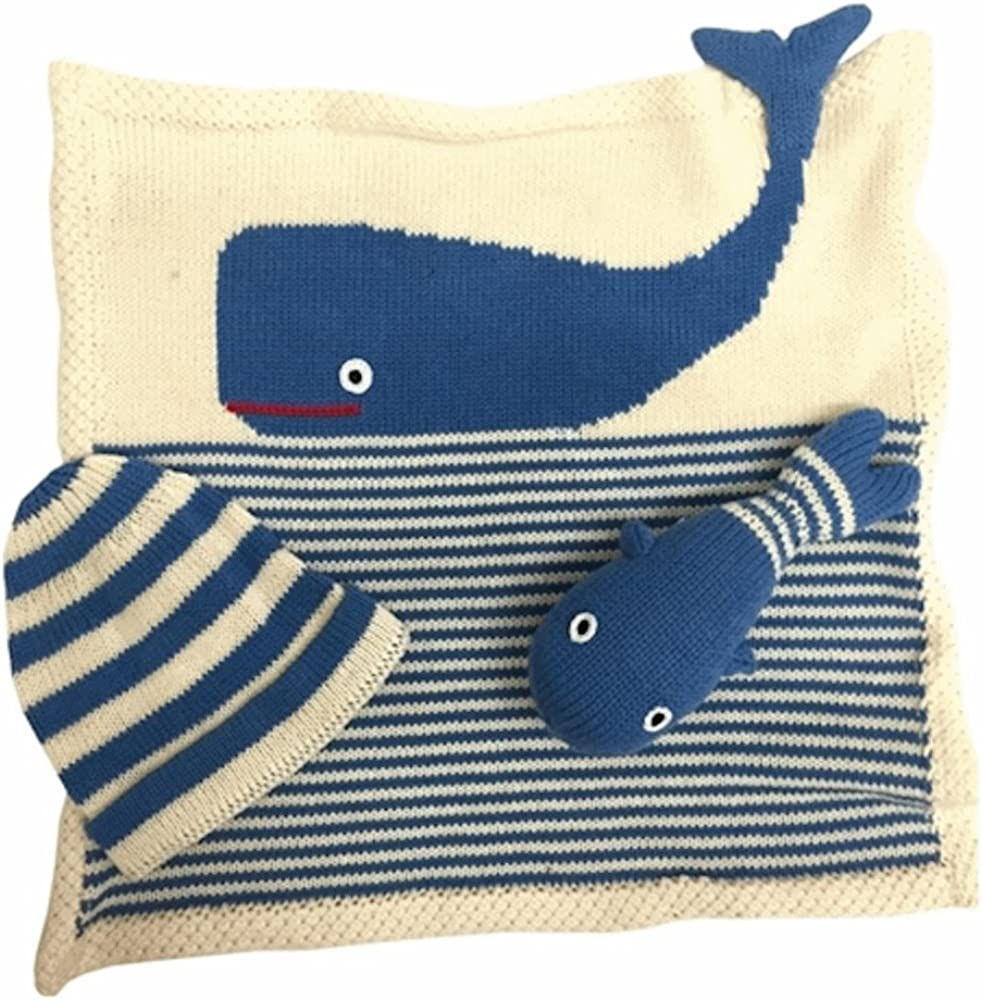 Organic Baby Gift Whale themed