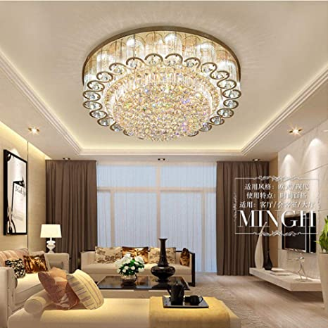 Modern LED Crystal Chandelier Celling Lamp Pendant Light Hotel Room Home Decor