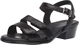 product image for SAS Womens Savanna Open Toe Casual Slingback Sandals (6.5 M (M) (B) US, Web Black)