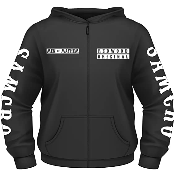 Sons Of Anarchy Afghanistan Zip Style Hoodie (S - 2XL) (Small)
