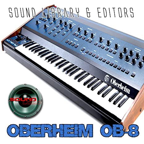 oberheim ob-8 enorme y original de fábrica nueva biblioteca de sonido creado y editores