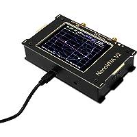 3.2 pulgadas de pantalla grande 3G Vector Network Analyzer SAA-2 NanoVNA V2 Antena Analizador de onda corta HF VHF UHF…