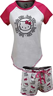 e38f0222a Amazon.com: Hello Kitty Women's Snooze Squad Tank Style Nightgown ...