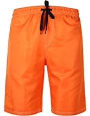 HONG DI HAO Mens Swim Trunks Quick Dry Swimming Trucks Men Big Tall Beach Shorts