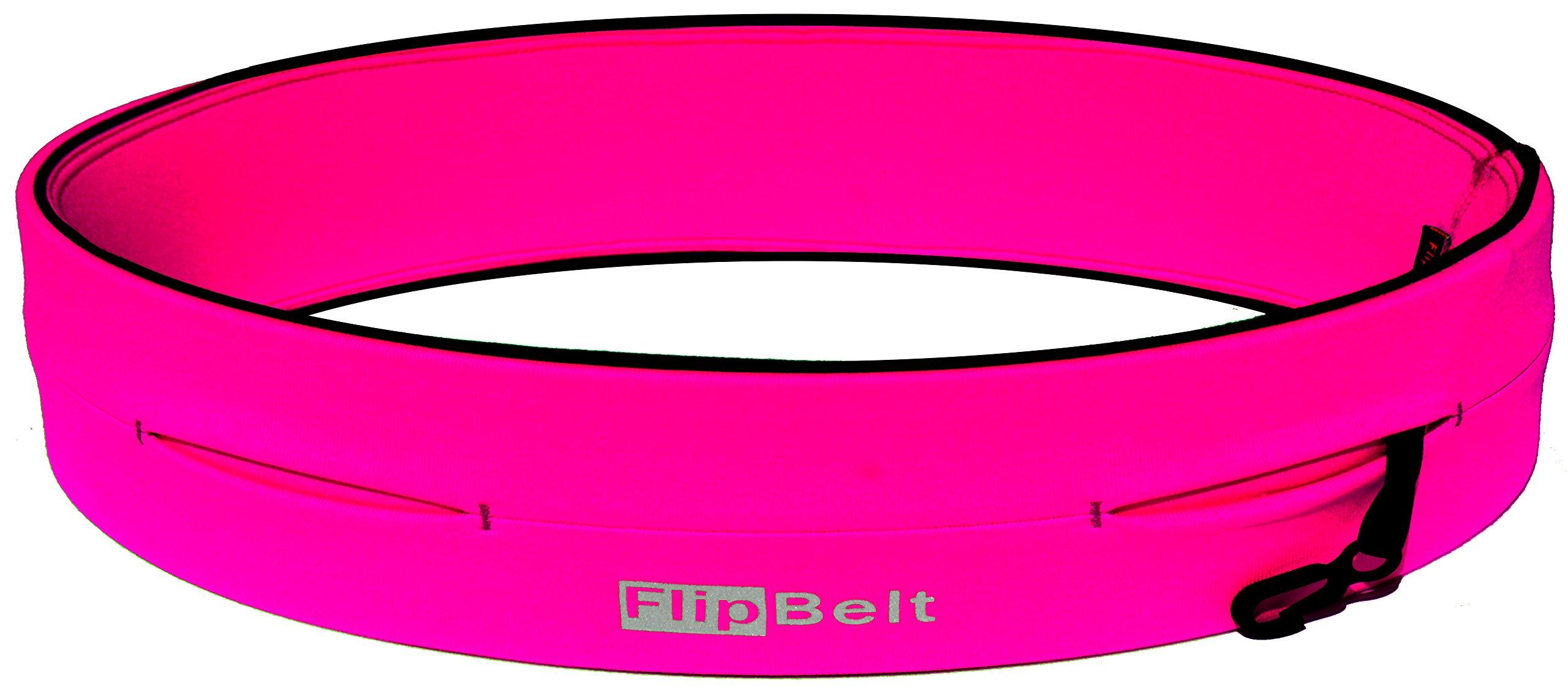 FlipBelt Level Terrain Waist Pouch, Hot Pink, X-Small/22-25'' by FlipBelt (Image #1)