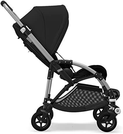 Bugaboo Bee 5, Foldable and Lightweight Pushchair, Converts Into Pram, Black