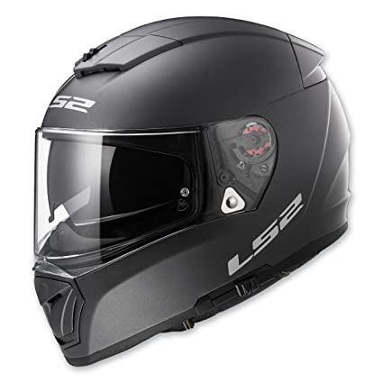 894f233f Amazon.com: LS2 Helmets Breaker Solid Full Face Motorcycle Helmet with  Sunshield (Matt Titanium, Small): Automotive