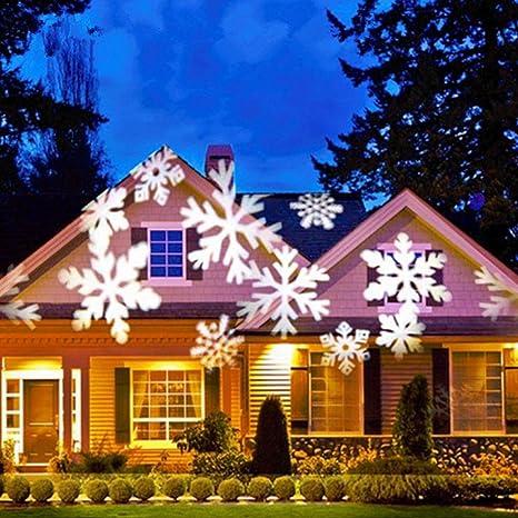 Lámpara de Proyector Navidad,Lámpara de Proyector de Copo de ...