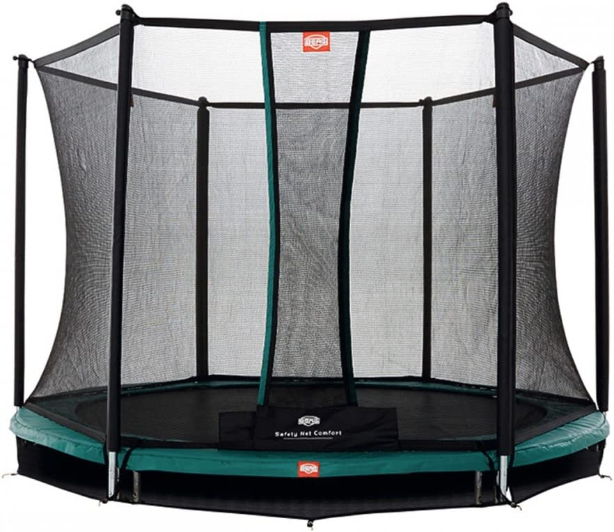 BERG Inground Talent 300 + red Comfort cama elástica para enterrar ...