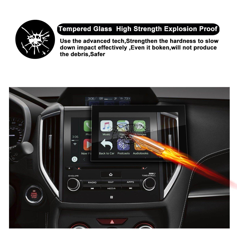 2018 Subaru Crosstrek Impreza Starlink Display Touch Screen Car Display  Navigation Screen Protector, HD Clear Tempered Glass Car in-Dash Screen