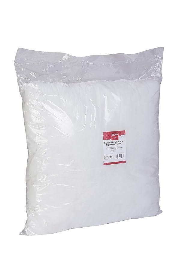 Pikolin Home - Cojín cuadrante de fibra hipoalergénico, firmeza media, 60x60cm, altura 16cm (Todas las medidas)