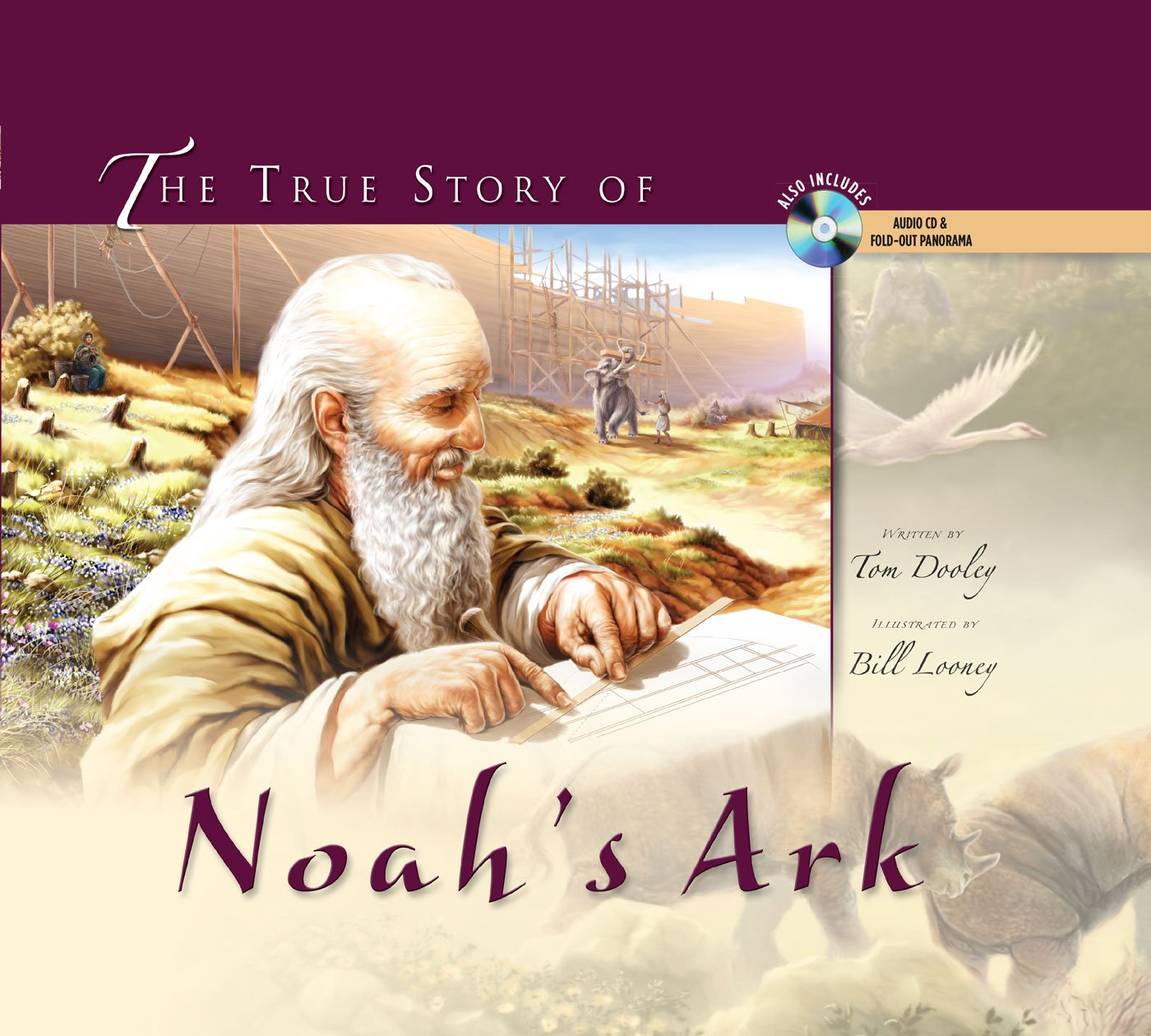 The True Story of Noah's Ark (with audio CD and pull-out spread) pdf epub