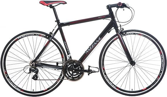 Mizani FBS - Bicicleta de Carretera para Hombre, Talla M (165-175 cm), Color Negro: Amazon.es: Deportes y aire libre