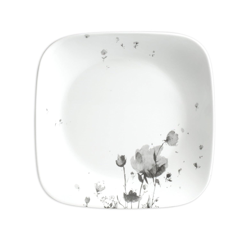 Schwarz//Grau Corelle 3926 Fleurs du Soir Geschirr-Set