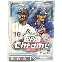 $43 » 2021 Topps Chrome Baseball Trading Cards Blaster Box