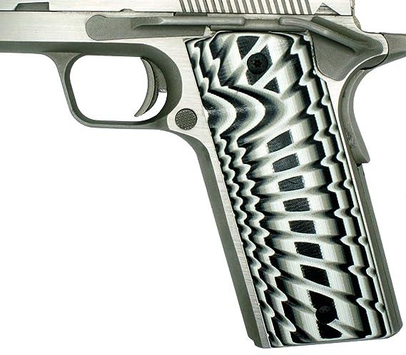StonerCNC Coonan 357 1911 Gun Grip G10 Starburst Fits Model B & C 357  Automatic Magnum Pistol