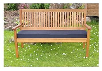 Pnh Garden Bench Cushion 2 Seater 3 Seater And Full Cushion Sets Including Back Pads Available Many Colours Use Indoors Or Outdoors 150cm 3