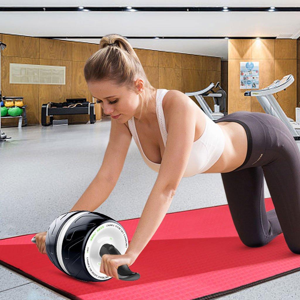 Big seller AB Roller Bauchmuskelübungs-Rad-Körper-Stärke-Gymnastik-Eignung-Trainings-Rad AB Roller Bauchtrainer