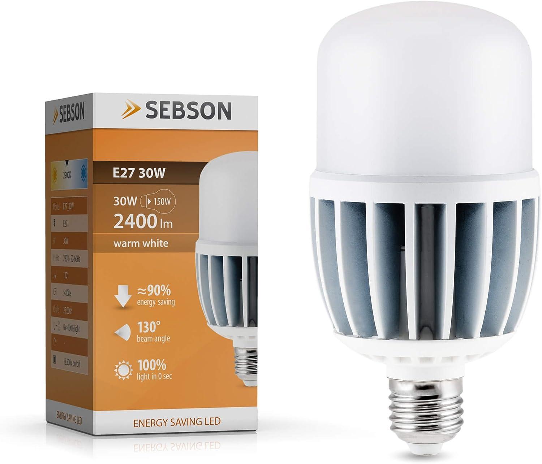 PHILIPS LED LAMPE 30 Watt E27 warmweiss 3450 Lumen